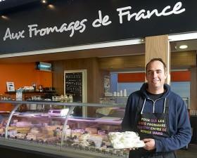Les fromages e France Pont l'Abbé