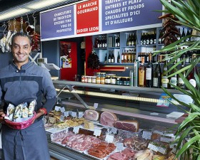le marché gourmand à Concarneau